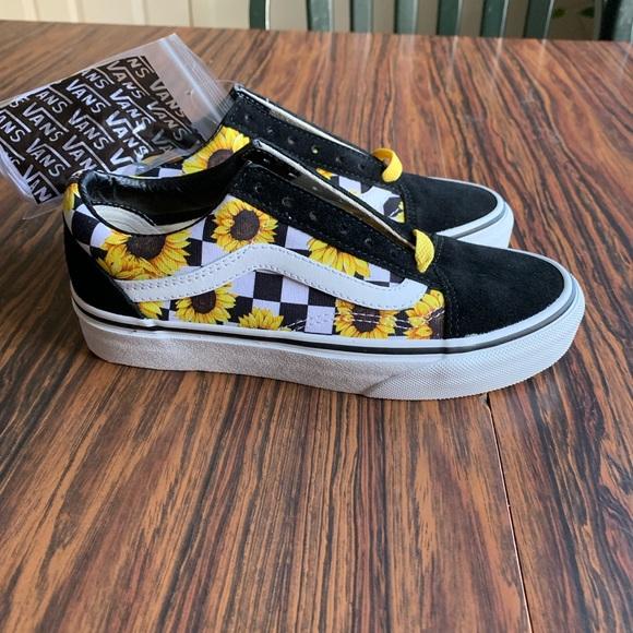 sunflower vans old skool